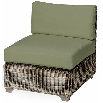 Holly Hill Slipper Chair and Ottoman Fabric: Cilantro