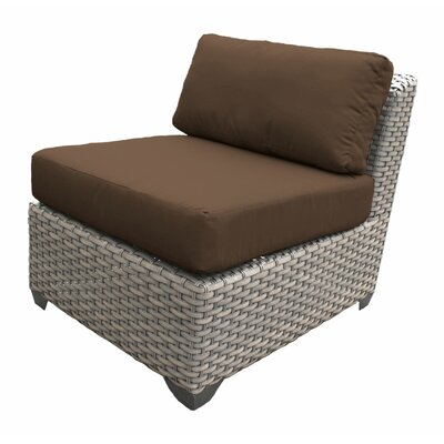Florence Armless Sectional Piece with Cushions Fabric: Cocoa