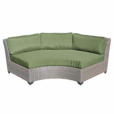 Florence Sofa with Cushions Fabric: Cilantro