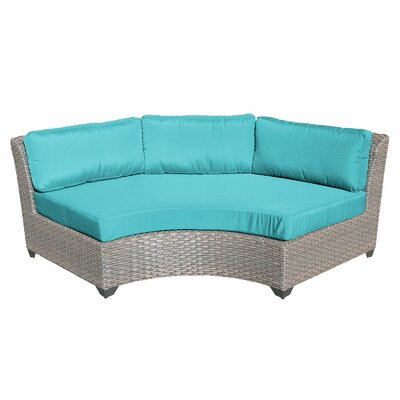 Florence Sofa with Cushions Fabric: Aruba
