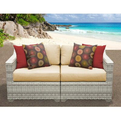 Fairmont Sofa With Cushions Fabric: Sesame