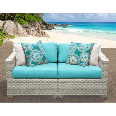 Fairmont Sofa With Cushions Fabric: Aruba
