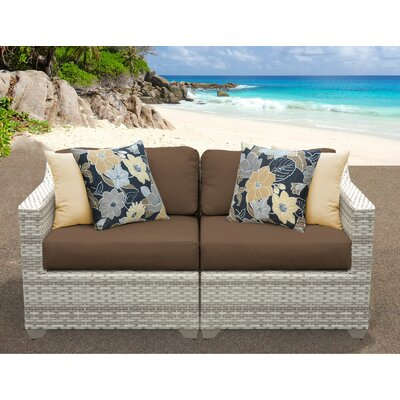 Fairmont Sofa With Cushions Fabric: Cocoa