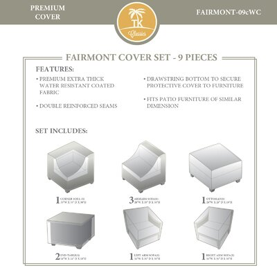 Fairmont 9 Piece Cover Set