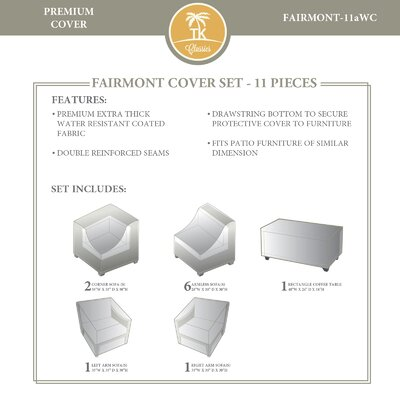 Fairmont 11 Piece Cover Set