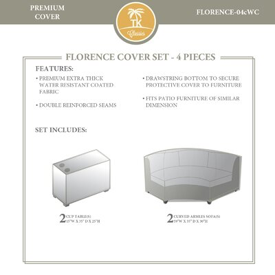 Florence 4 Piece Cover Set