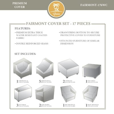 Fairmont 17 Piece Cover Set