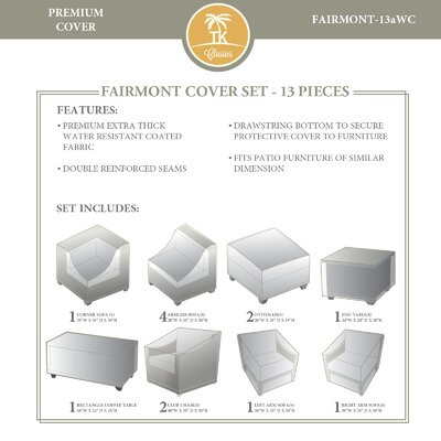 Fairmont 13 Piece Cover Set