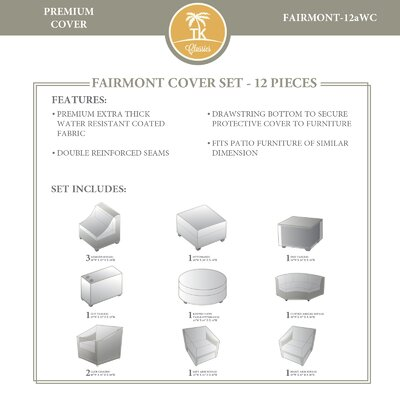 Fairmont 12 Piece Cover Set