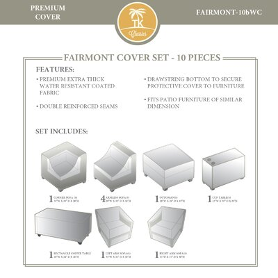 Fairmont 10 Piece Cover Set