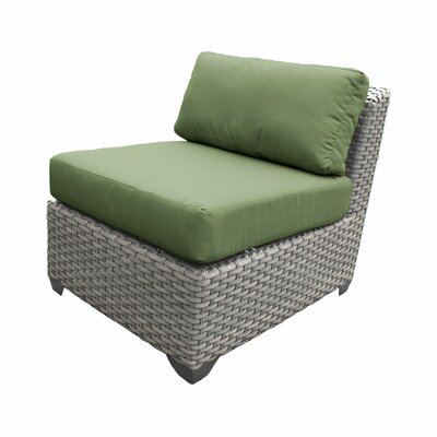 Florence Armless Sectional Piece with Cushions Fabric: Cilantro