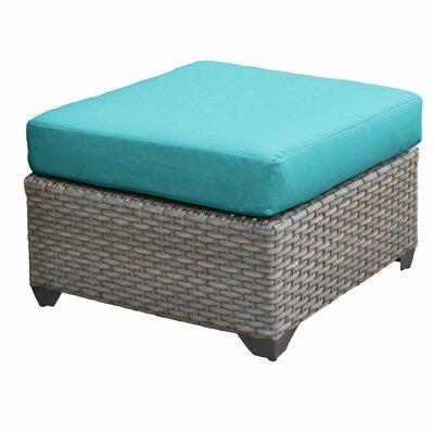Florence Ottoman with Cushion Fabric: Aruba