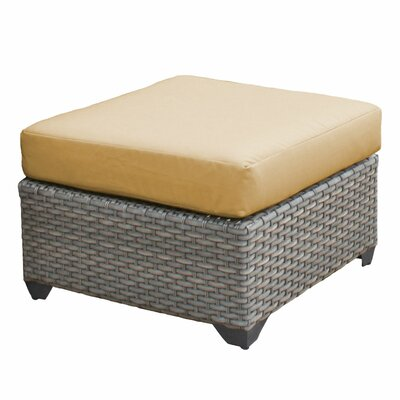 Florence Ottoman with Cushion Fabric: Sesame