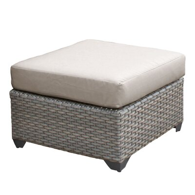 Florence Ottoman with Cushion Fabric: Beige