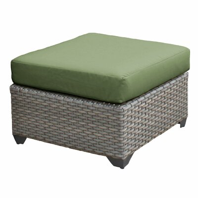 Florence Ottoman with Cushion Fabric: Cilantro