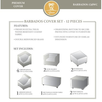 Barbados 12 Piece Cover Set