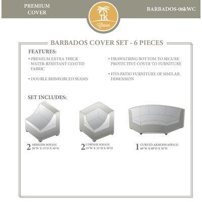 Barbados 5 Piece Cover Set