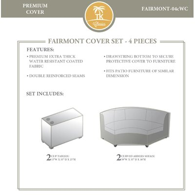 Fairmont 4 Piece Cover Set