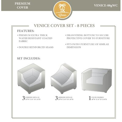 Venice 8 Piece Cover Set