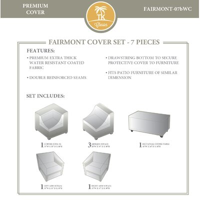 Fairmont 7 Piece Cover Set