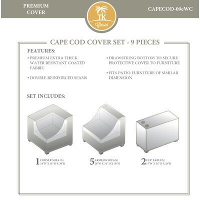 Cape Cod 9 Piece Cover Set