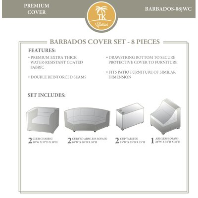 Barbados 8 Piece Cover Set