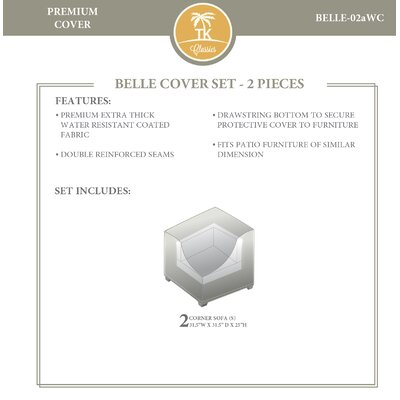 Belle Sofa Cover 2337 Product Pic