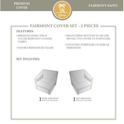 Fairmont 2 Piece Sofa Cover Set