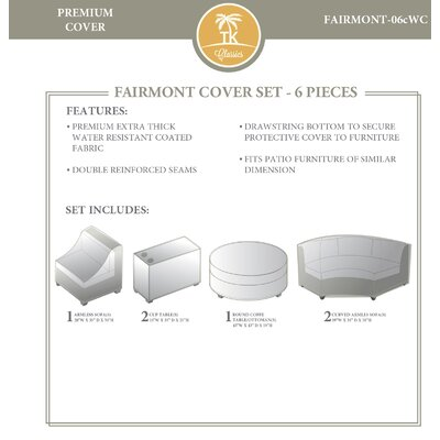 Fairmont 6 Piece Cover Set