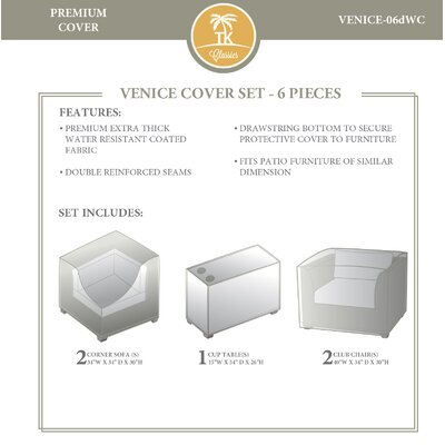 Venice 6 Piece Cover Set