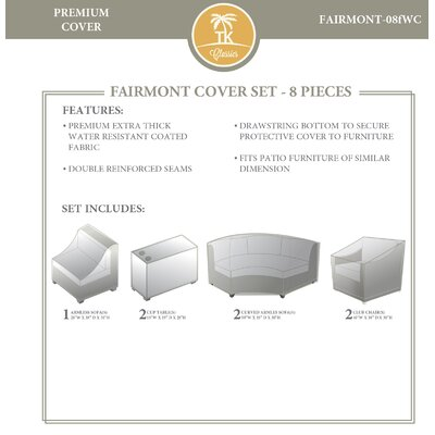 Fairmont 8 Piece Cover Set