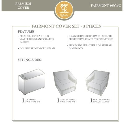 Fairmont 3 Piece Cover Set