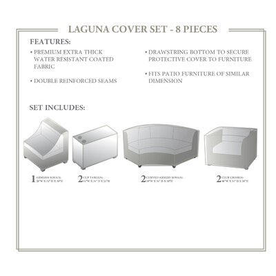 Laguna 8 Piece Cover Set