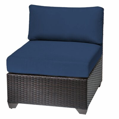 Slipper Chair Fabric: Navy