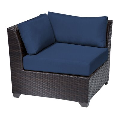 Barbados Side Chair Fabric: Navy