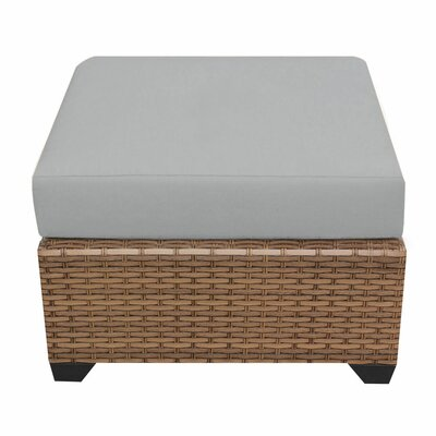 Laguna Ottoman with Cushion Fabric: Gray