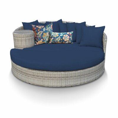 Fairmont Daybed with Cushions Fabric: Navy
