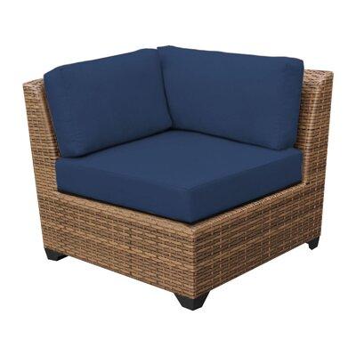Laguna Arm Chair Fabric: Navy