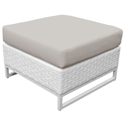 Miami Ottoman with Cushion Fabric: Beige