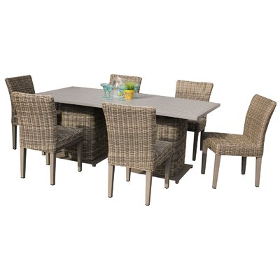 Cape Cod 6 Piece Dining Set Finish: Tan