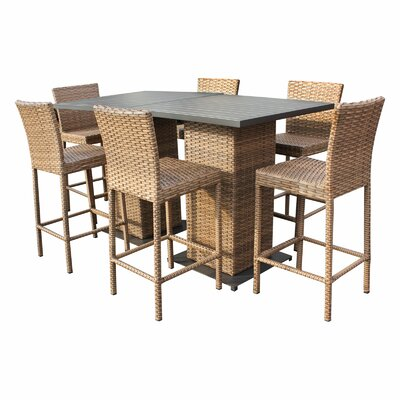 Laguna 8 Piece Pub Table Set
