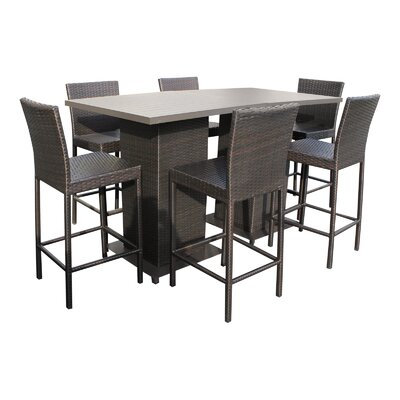 Napa 8 Piece Pub Table Set