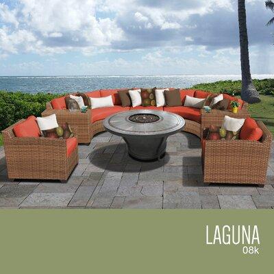 Rattan Sectional Set Cushion Laguna - Product photo