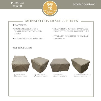 Patio Chair Cover Set 584 Product Image