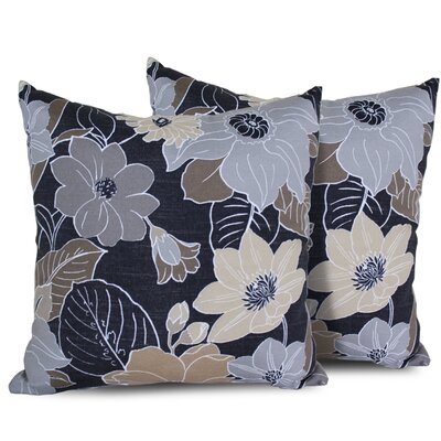 Floral Rectangle Outdoor Throw Pillow