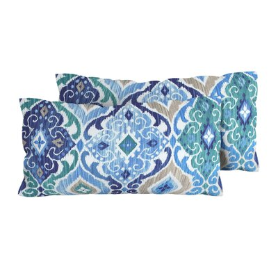 Cobalt Outdoor Lumbar Pillow