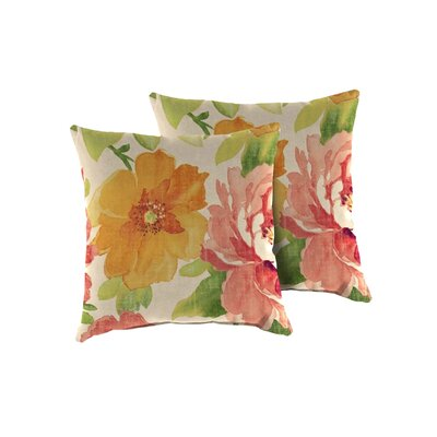 Primrose Outdoor Throw Pillow
