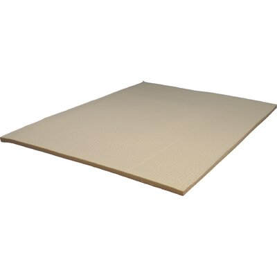 1 Memory Foam Mattress Topper Size: Queen