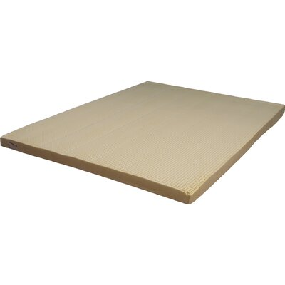 3 Natural Latex Foam Mattress Size: Twin