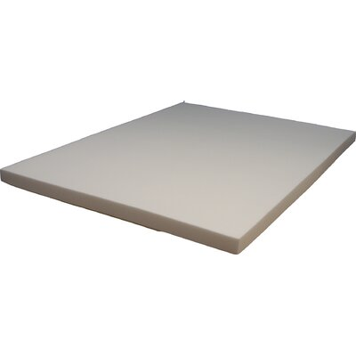 Super Premium Soy Based 3 Memory Foam Mattress Topper Size: King